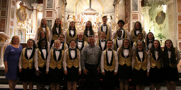 Cleveland's Singing Angels at the Festival Orchestre Giovanili